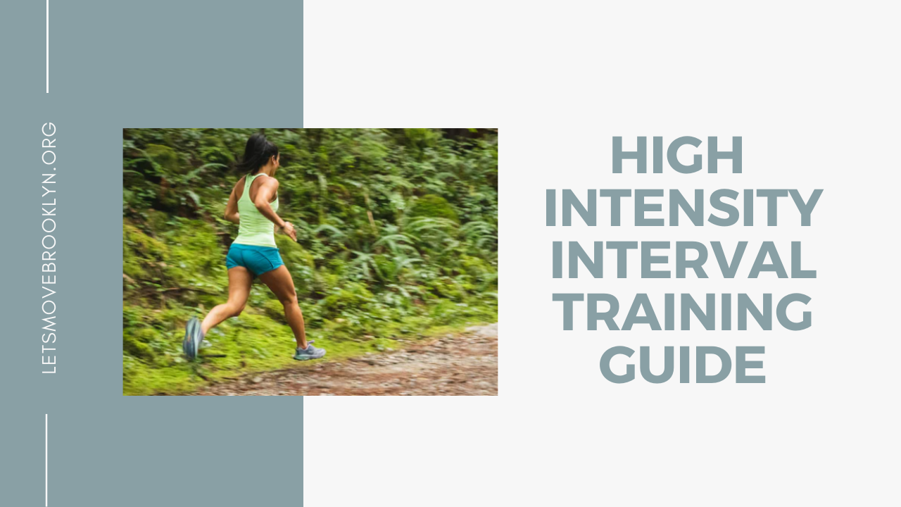 High Intensity Interval Training Guide Video