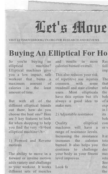 Buying An Elliptical For Home-Let us Help You Choose