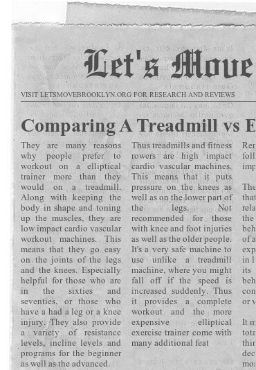 Comparing A Treadmill vs Elliptical Cross Trainer