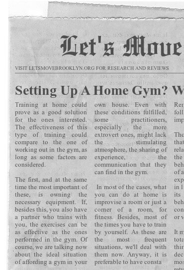 Setting Up A Home Gym? Watch This!