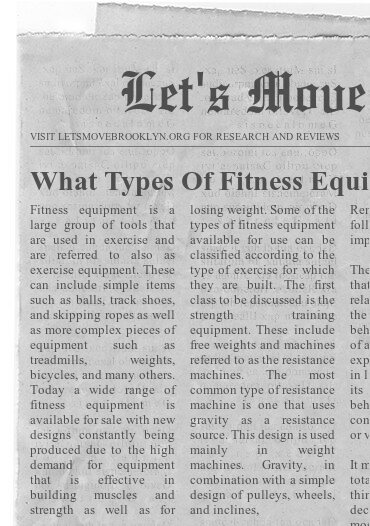 What Types Of Fitness Equipment Are Right For You