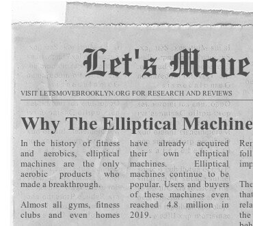 Why The Elliptical Machine Is Great For Fitness