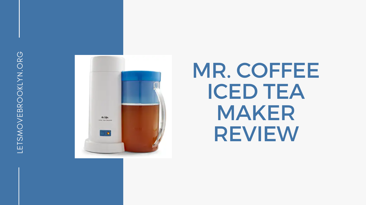 Mr. Coffee Ice Tea Maker Review (Best Choice)